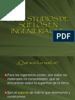 Estudios de Suelos en Ingenieria Civil