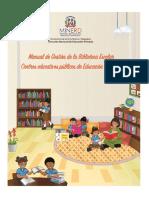 Manual de Gestión de La Biblioteca Escolar de Educación Primaria