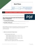 How to Disconnect2FSurrender Bsnl Broadband2FLandline Online2F Through CSC - (1)