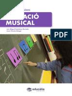 Temario oposiciones educación musical 2017 Temas 4 y 5 en catalán