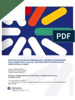 SESPAS Informe Proteccion Datos 2017