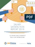 Salary Satisfaction Report 2019