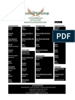 Country Malt Group 2015 Pricing