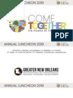 GNO, Inc. 2019 Annual Meeting Presentation