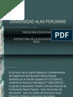 Estructura de La Educacion en El Peru. (2)