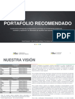 BCI Portafolio Recomendado Feb 2016