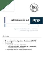 Introduzione Ad Access