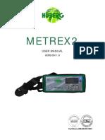 Metrex Manual v1 9 Español