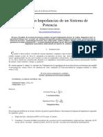Informe 02-Equivalente en Impedancias de Un Sistema de Potencia