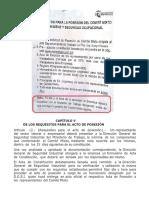 Requisitos Posesión Comité Mixto