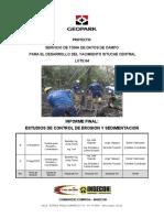 Informe de Control de Erosion y Sedimentacion Rev B