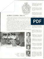 Examples of blackface in old Auburn University Glomeratas