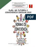 Plan de Tutoría y Convivencia Escolar - 2018 Del Ceba 2029