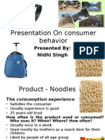 consumer behavior ppt