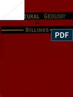 Structural Geology mp billings