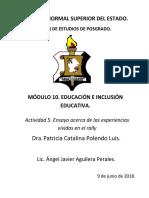 INCLUSION EDUCATIVA