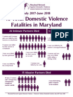 2019 DV Homicide Statistics Infographics