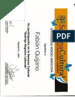 Ejemplo de certificado de estudios