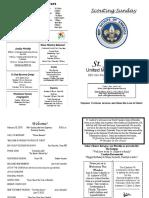 St Andrews Bulletin 021019