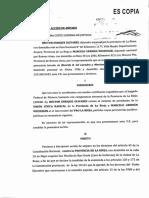 Amparo presentado por la Unión Cívica Radical y el Pro de La Rioja