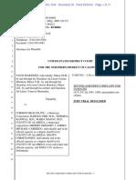Martinez v Corizon Second Amended Complaint 16cv881