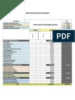 Ejemplo Matriz Fuente Financiamiento