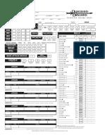 Interactive D&D 3.5 Character Sheet