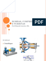 Bombas, Compressores e Turbinas