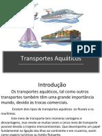 Transportes Aquáticos Geografia 2 Ultimo