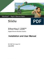 Siklu Eh-1200 Install & User Manual - Eh-Instl-02_issue3 (June 2012)