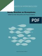 1983 Book SandyBeachesAsEcosystems