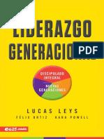 Liderazgo Generacional (Spanish - Lucas Leys