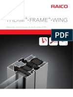 FRAME THERM WING Instruction Manual 2016