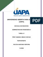 TAREA IV Adm Financiera II