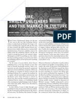 Literature, small publishers and the Market