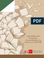 Actividades del Programa de promoción a la lectura en CESCOM.docx