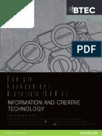 Sample Assessment Material - ICT - September 2012 - ICT-SAMs-MarkSchemes