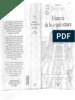 BENEVOLO, Leonardo. Historia de La Arquitectura Moderna