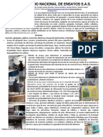 Presentacion Laboratorio Nacional de Ensayos SAS