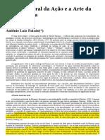 Antônio Luiz Paixão - A Teoria Geral da Ação e a Arte da Controvérsia