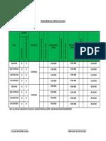 Cronograma de Control de Plagas