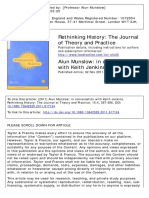 Allun Munslow and Keith Jenkins, Rethinking History