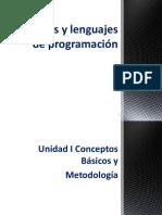 Algoritmos y Lenguajes de Programación - Parte 1