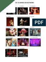 13 Signos Del Teatro Imagen