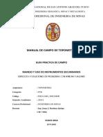 Practica Nº 01 Alineamiento,Medicion de Distancias, Cartaboneo, -Topometria