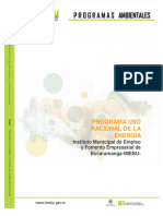 PROGRAMA DE USO RACIONAL DE LA ENERGIA