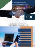 Presentación de Propuesta de Congresos y Convenciones