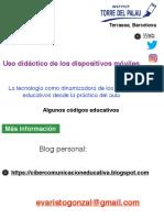 Uso didáctico de los dispositivos digitales móviles