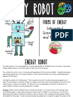 Forms of Energy Robot Project