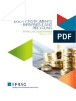 EFRAG Discussion Paper Equity Instruments - Impairment and Recycling